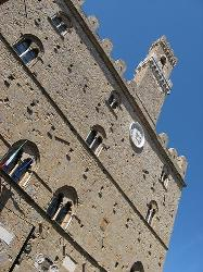 Volterra, medieval town in Tuscany countruside